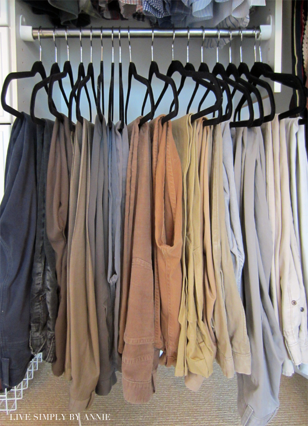 Organized closet & storage design //  Live Simply by Annie, professional organizing services