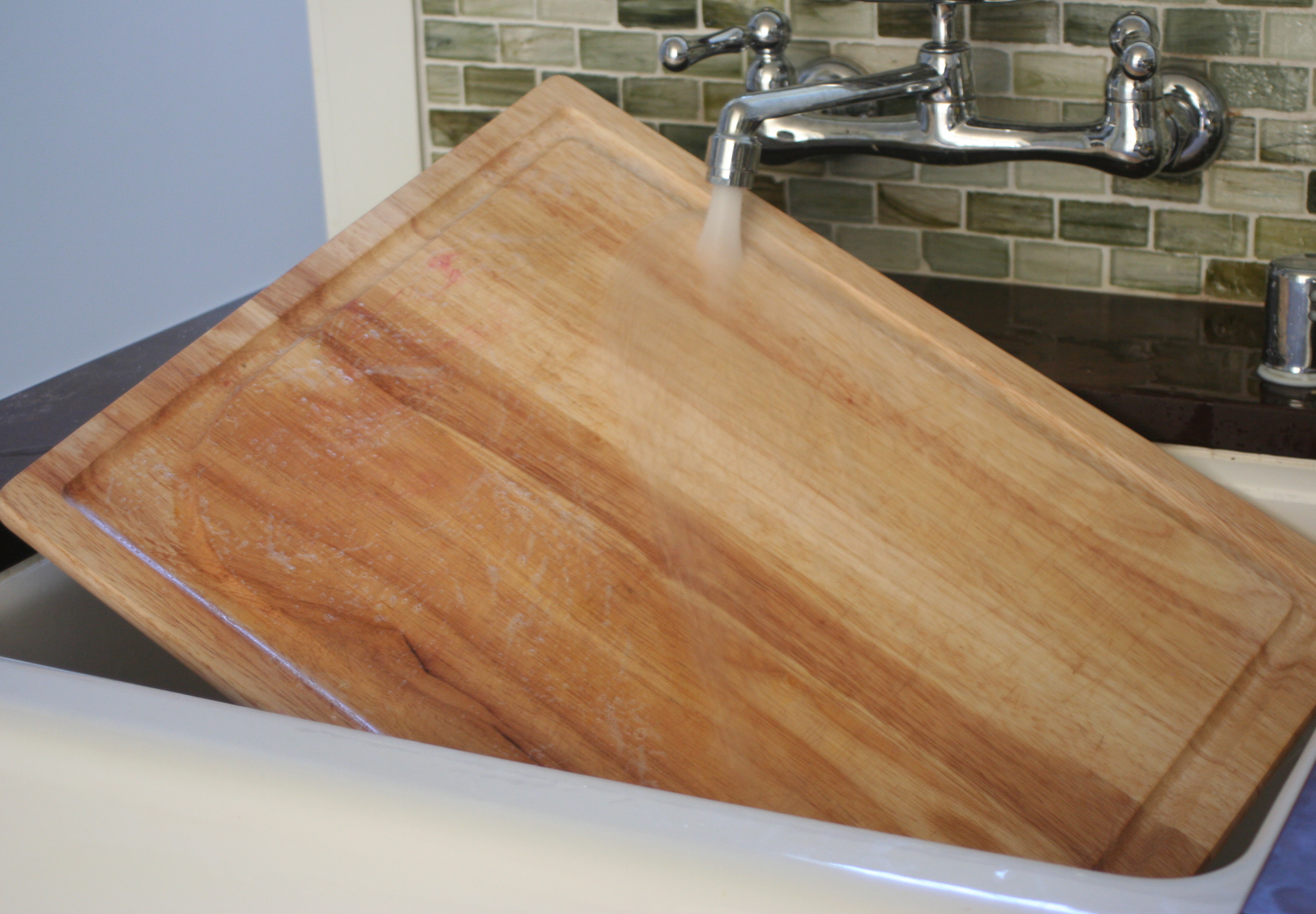 How To Clean A Wooden Cutting Board Naturally Live Simply By Annie
