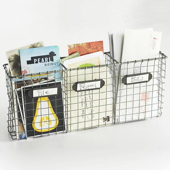 The Famous Wall Mounted Wire Basket Live Simply By Annie
