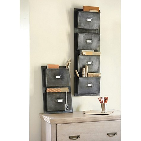 The Famous Wall-Mounted Wire Basket :: Live Simply by Annie