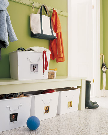 How To Organize Winter Wear In The Entryway | Live Simply By ...