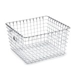 Chrome Storage Basket