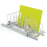 Roll-Out Lid/Tray Organizer