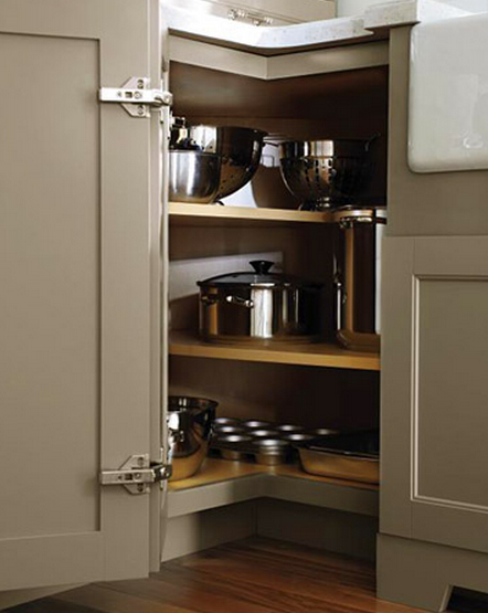 To Deal With The Blind Corner Kitchen Cabinet Live Simply By Annie