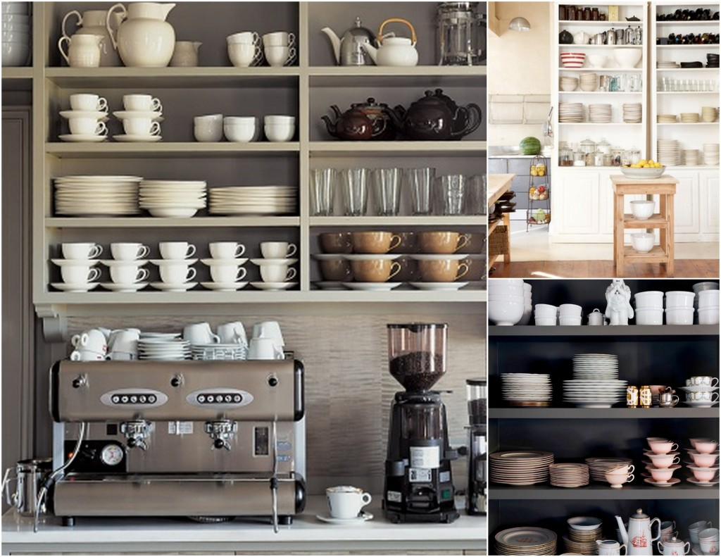 Open Storage Kitchen: Open Shelving In The Kitchen