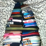Decluttering In The Closet: Commemorative T-Shirts