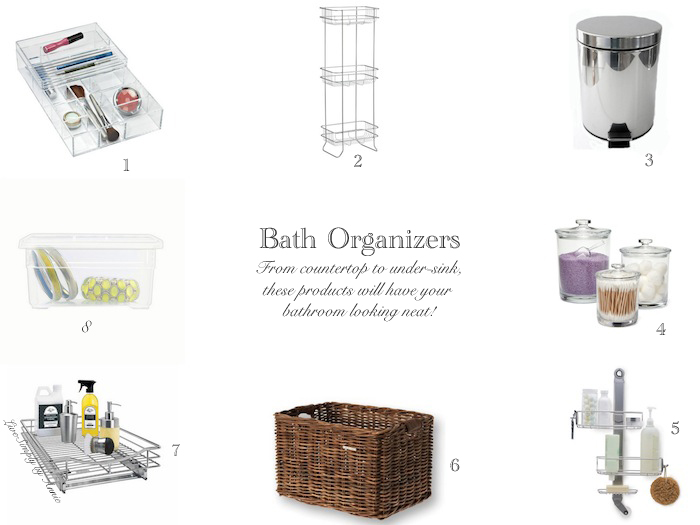 The Best Organizers To Cut Bathroom Clutter Live Simply