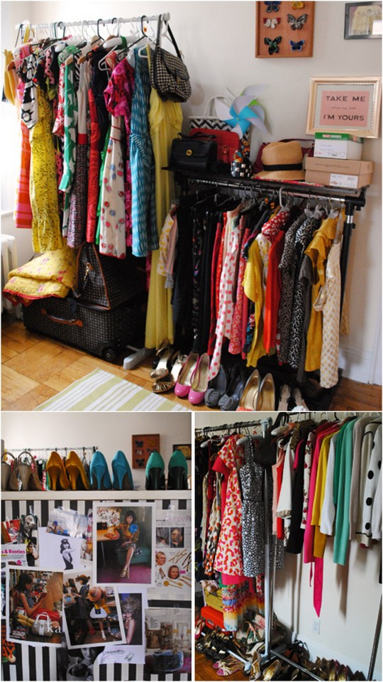 The No Closet Garment Rack Closet (19 Winning Examples + Where To Buy Them) // Live Simply by Annie