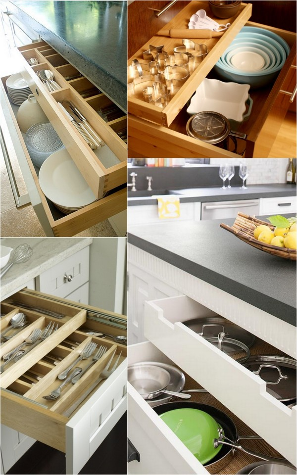 How To Deal With Deep Kitchen Drawers Live Simply By Annie