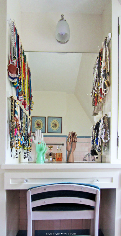 Madrona Master Closet: The Necklace Organizers // Live Simply by Annie