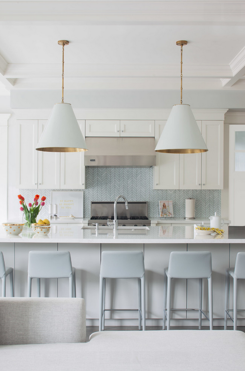 Totally smitten with this kitchen by Kelly Deck Design.