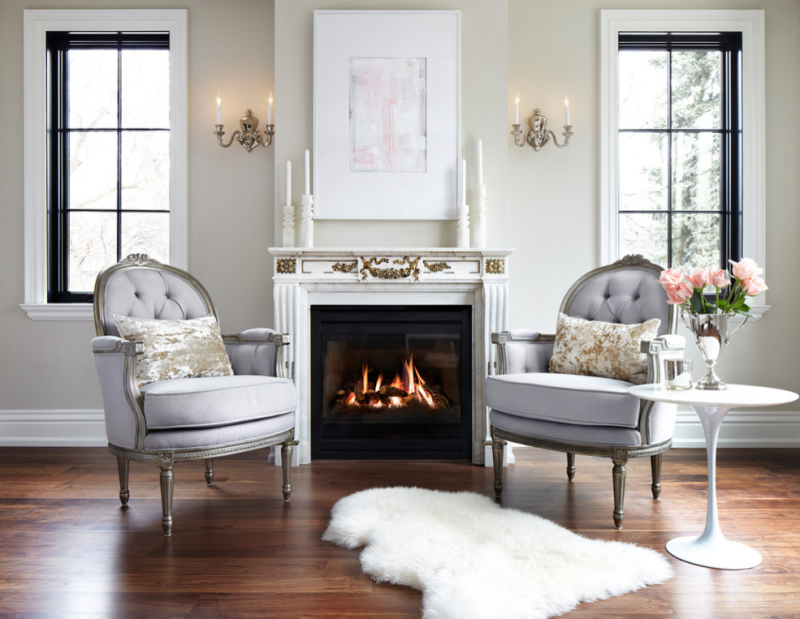 Gorgeous and glam living room