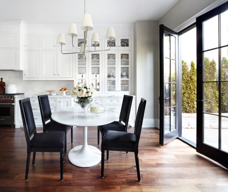 Glamorous dining area by The Design Co.