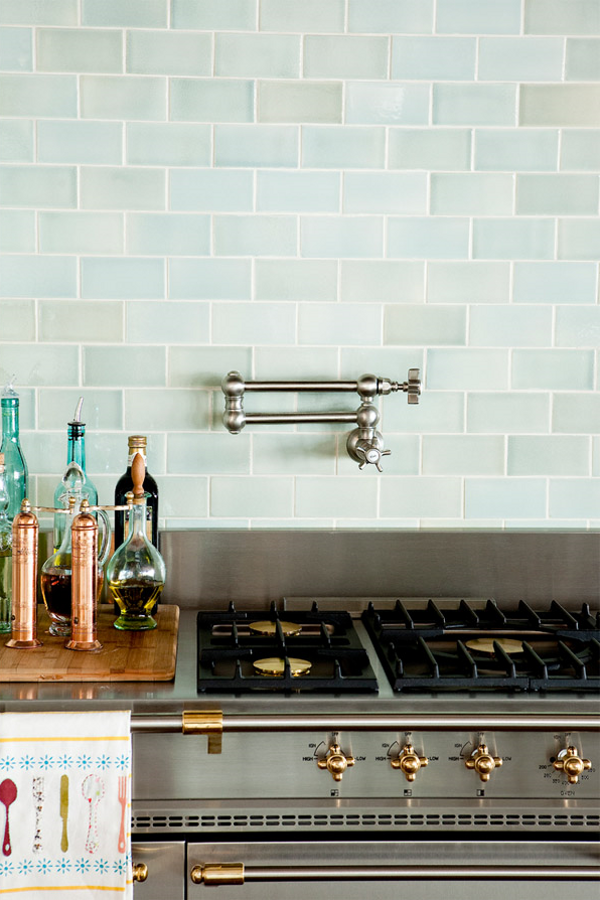Just in: your kitchen needs a pot filler faucet.