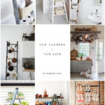 6 Surprisingly Chic New Uses For Old Ladders