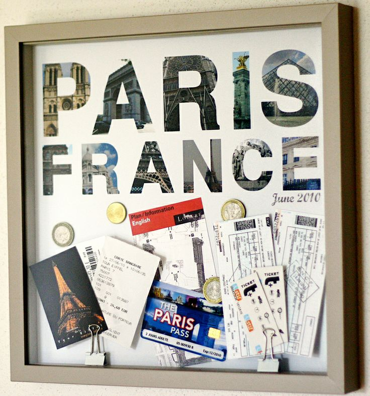 Use it or lose it: travel memorabilia