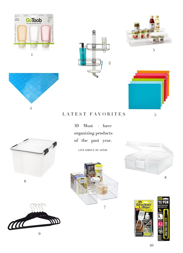 A professional organizer's favorite organizing products!