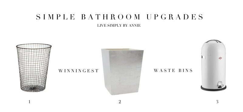 7 simple ways to instantly upgrade your bathroom!