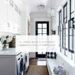 6 Simple Ways To Upgrade Your Laundry Room