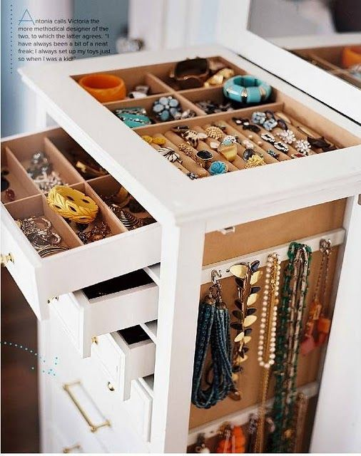 weekend assignment: declutter and organize your jewelry!