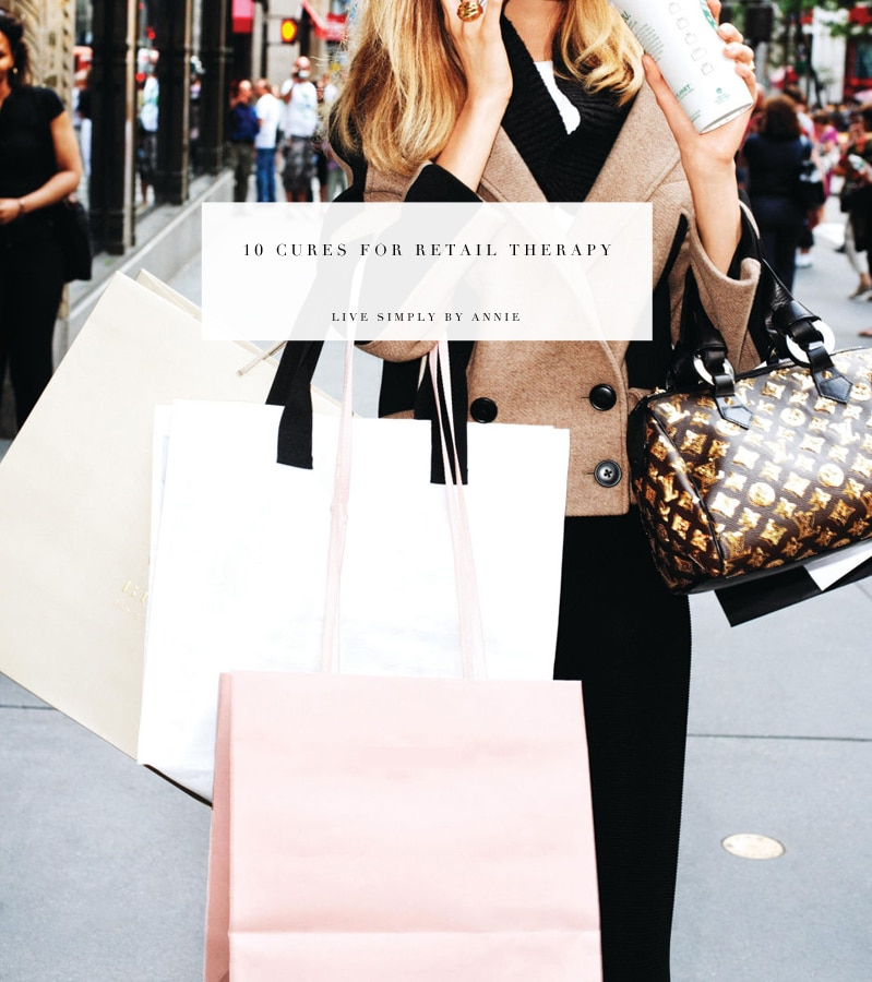 Pin this to read any time you get the retail therapy urge.