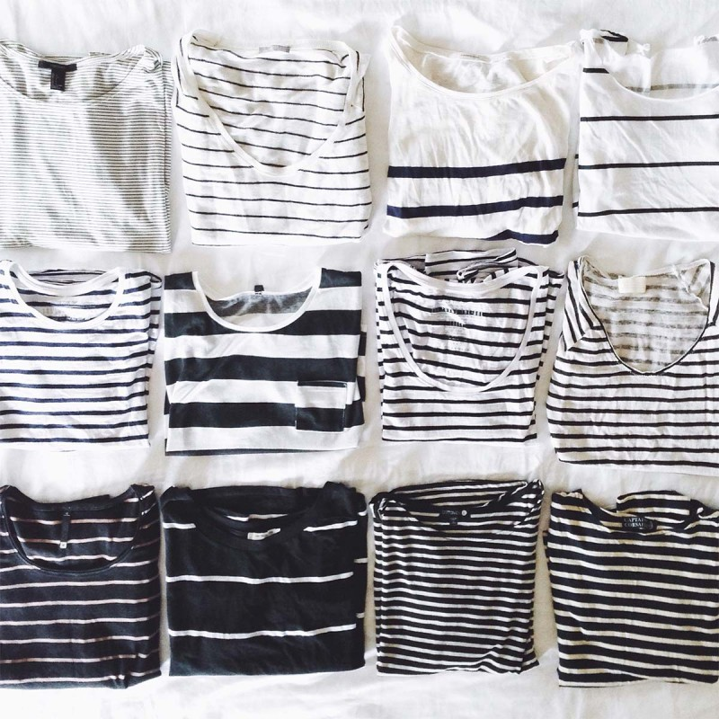 how to whip your t-shirt collection into shape this weekend!