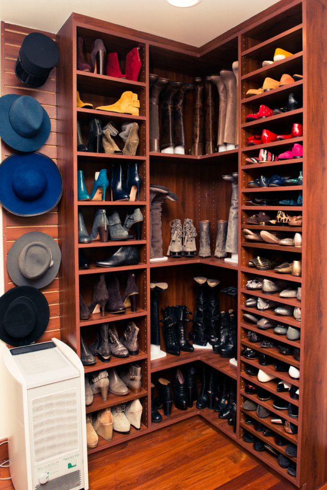 This trick will save you precious closet space--try it!