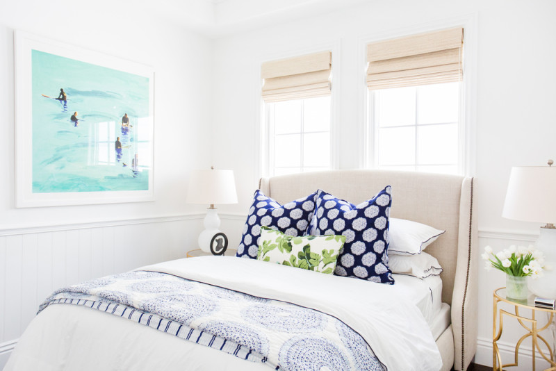 I could live in this guest bedroom by Studio McGee.