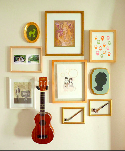 ideas on how to use everyday objects as art for a home that feels undeniably like you!