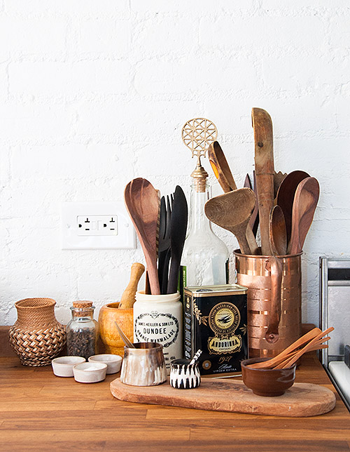 Round-up of brilliant ways to vintage, thrifted, and salvaged items as repurposed storage!