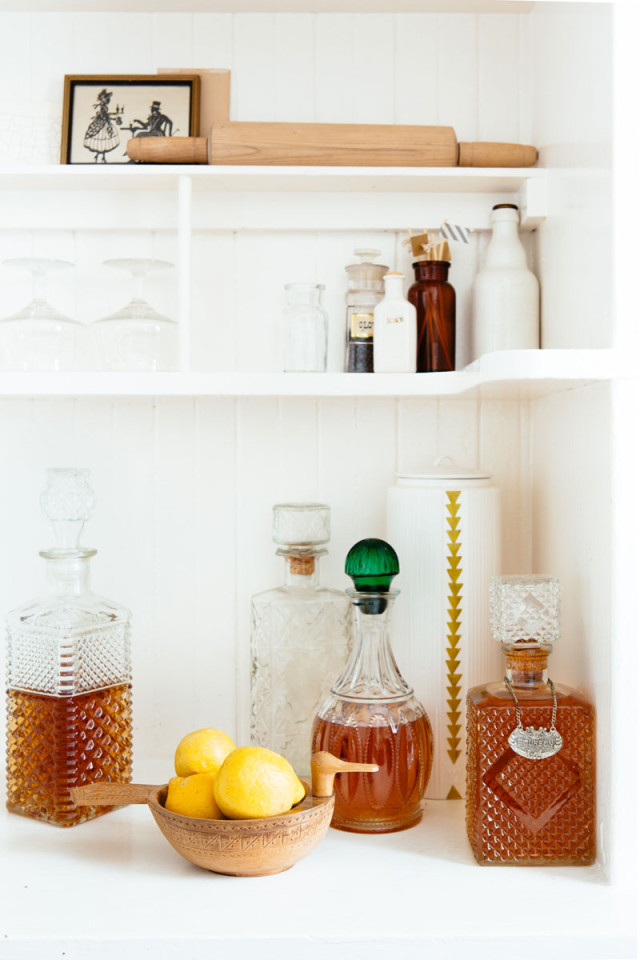 What a difference decanting can make! From cluttered and chaotic to utterly serene Simplicity!