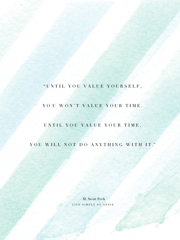 value-yourself-value-your-time