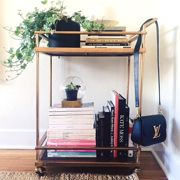 6 ways to reimagine the role your bar cart plays in your home.