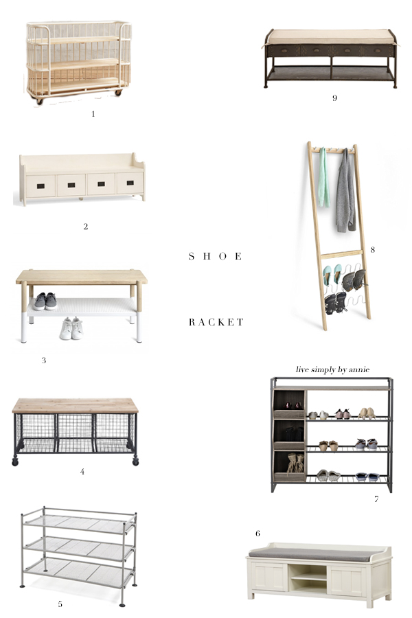 9 Ways To Organize Shoes In The Entryway Live Simply By