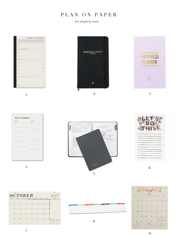 9 Paper Planners, Perfect For To-Do Lists & Goal-Setting