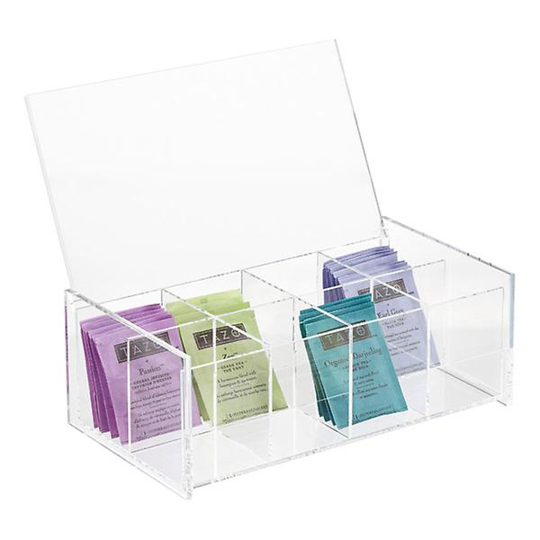 Oh, the places you'll go with this acrylic tea box...