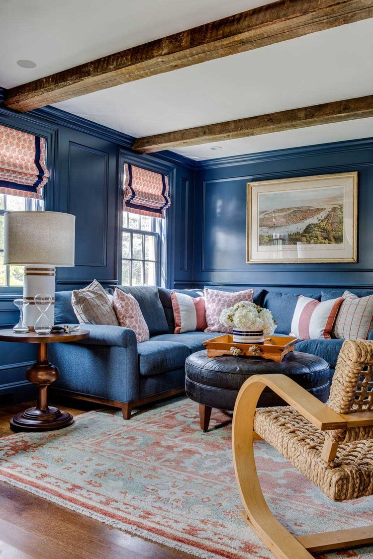 """This New England home is the poster child for """"coastal chic."""""""