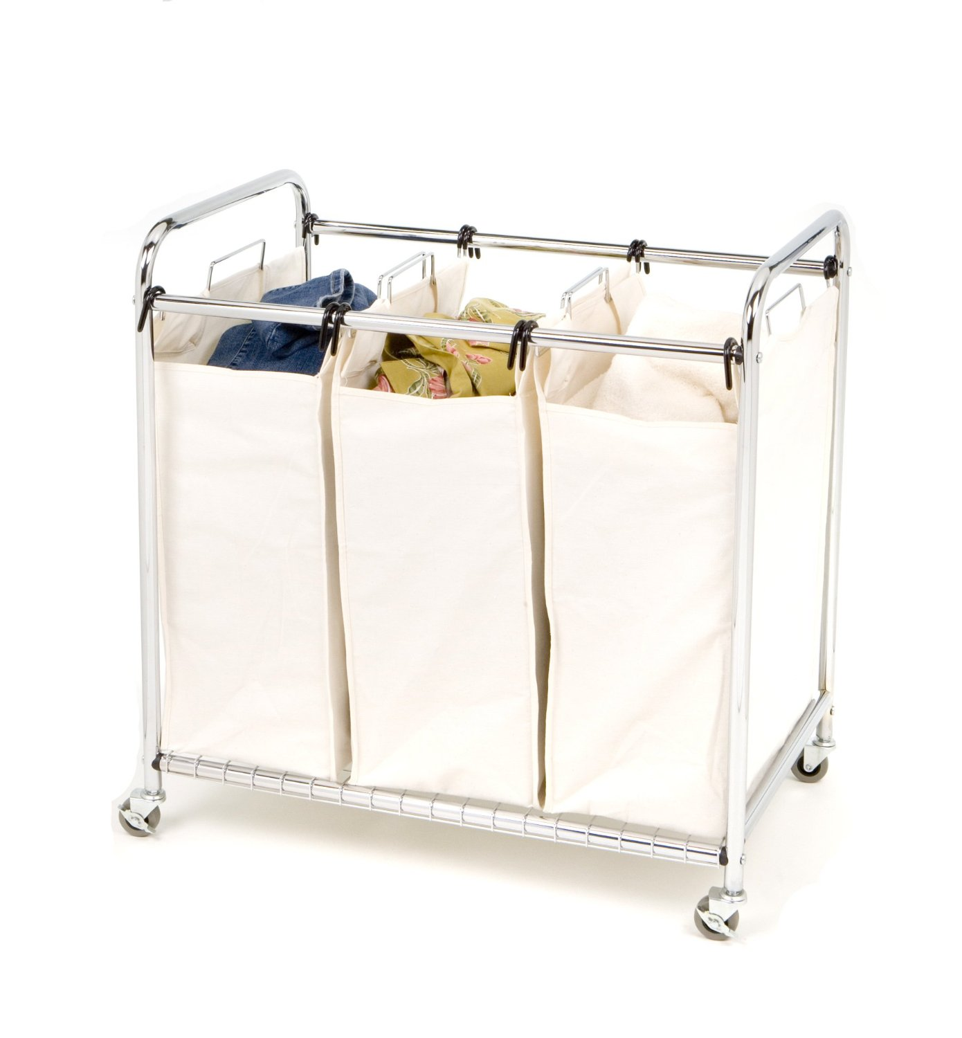 3 Section Laundry Hamper