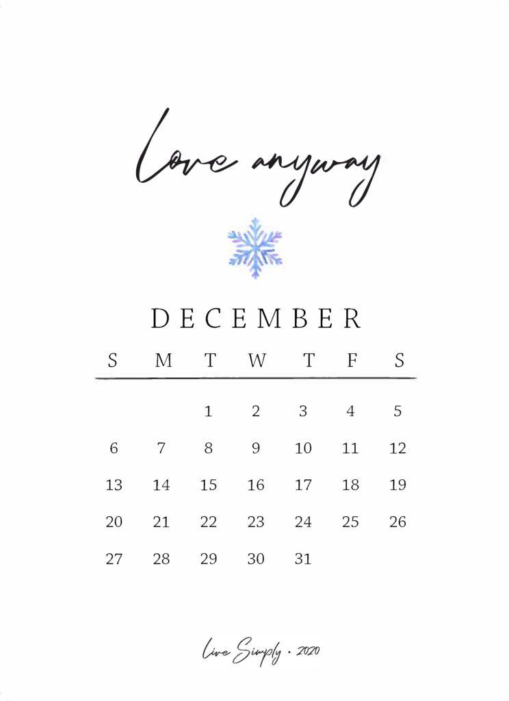 december mantra